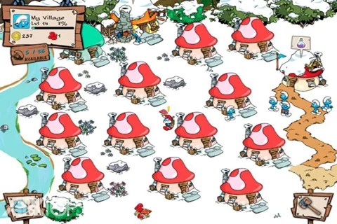 Smurf's_Village_screen_shot_03