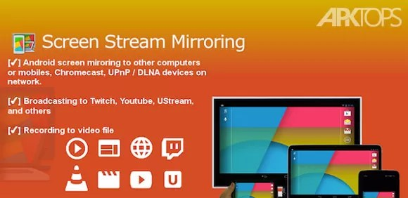 Screen-Stream-Mirroring