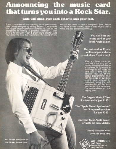 Guitar Hero for the Apple II