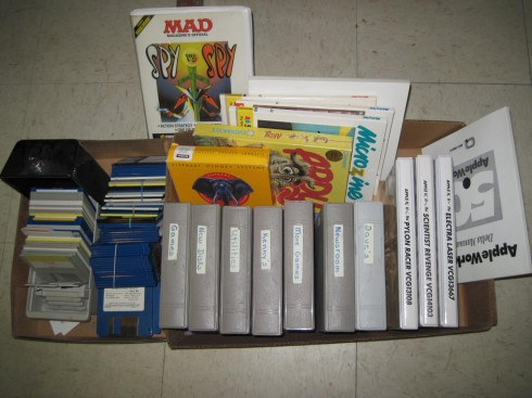 Box of floppies