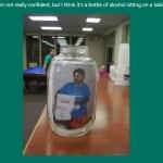 Ryan Suenaga donation jar
