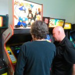 Andy and Carrington play Mappy