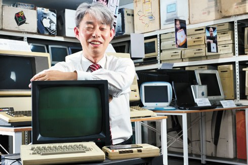 Kim Kwon-Tae, operator of the Korea Computer Museum