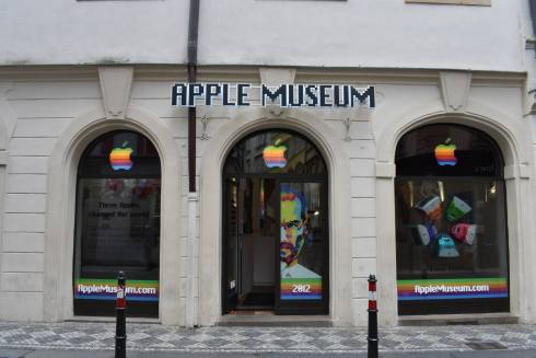 Apple Museum entrance