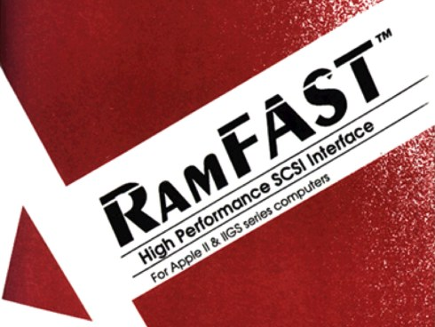 RamFAST SCSI manual cover