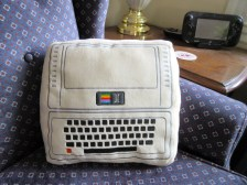 Throwboy iconic Apple pillow -- front