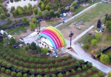 Apple Park Rainbow Arch