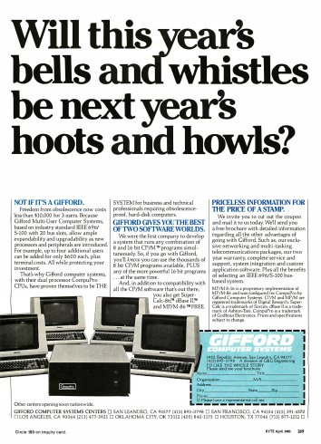 BYTE Magazine from April 1983