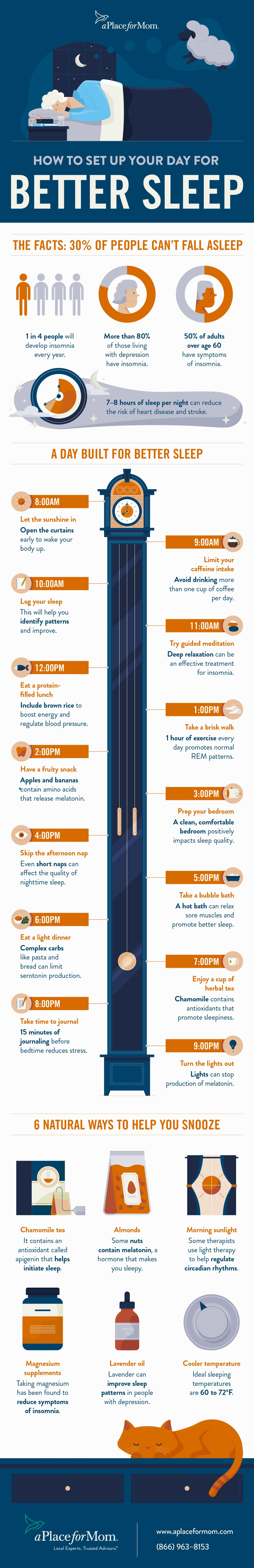 How to Plan Your Day for a Better Night's Sleep