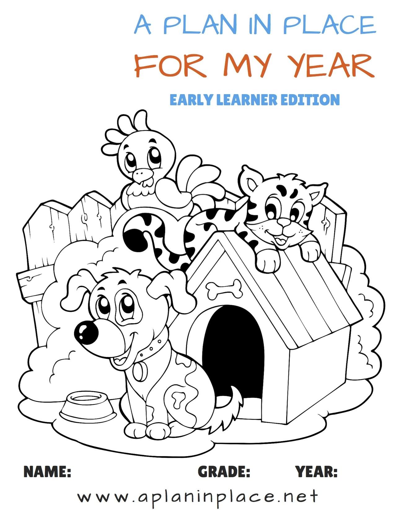 Printable Planner For Homeschool