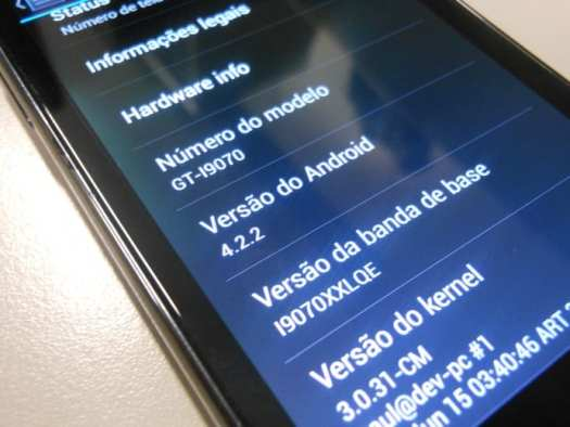 Samsung galaxy S2 lite Android 4.2.2 Paranoid PAC