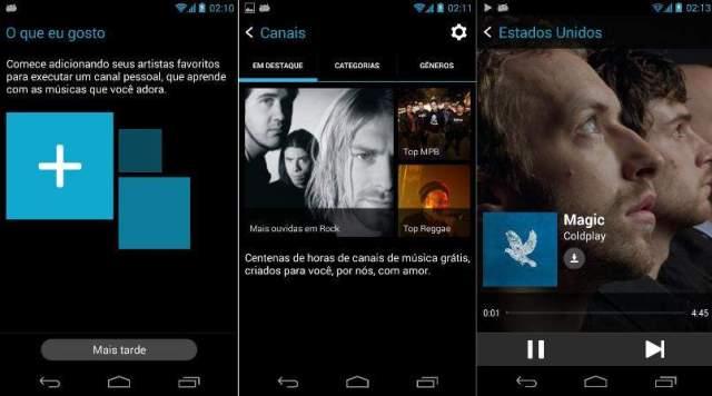 mixradio app de musica