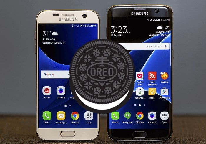 galaxy s7 android 8.0 oreo