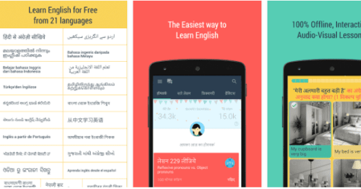 aprender ingles online no Android