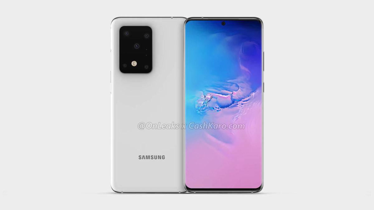 Samsung Galaxy S11 Plus renderiza OnLeaks 4