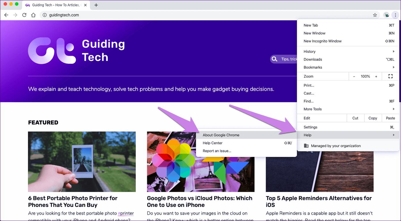 Atualizar o Google Chrome 10