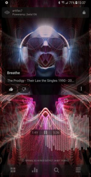 Poweramp Music Player - Melhores aplicativos para Music Player para Android