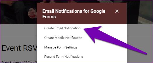 Obter respostas dos formulários do Google por email 09