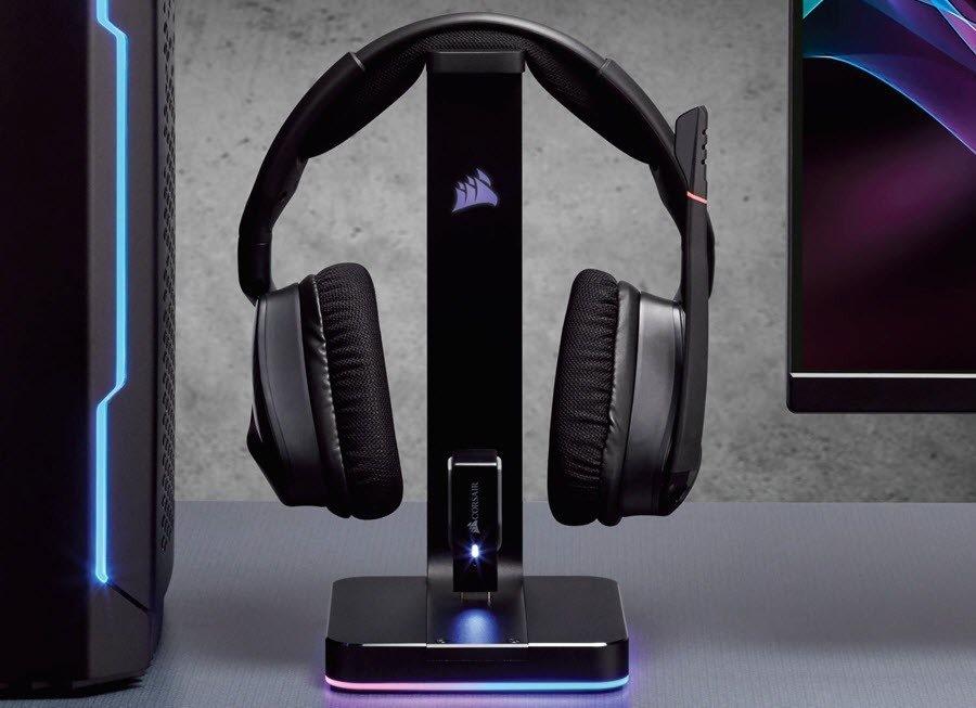 Suporte para Headset Corsair ST100 RGB Premium