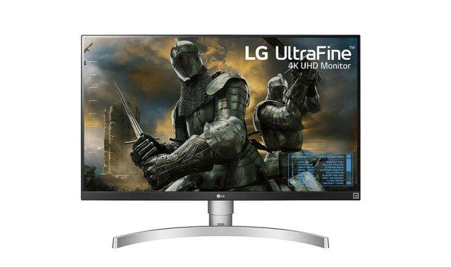 LG 27UK50-W Monitor de LED UHD 4K de 27 polegadas