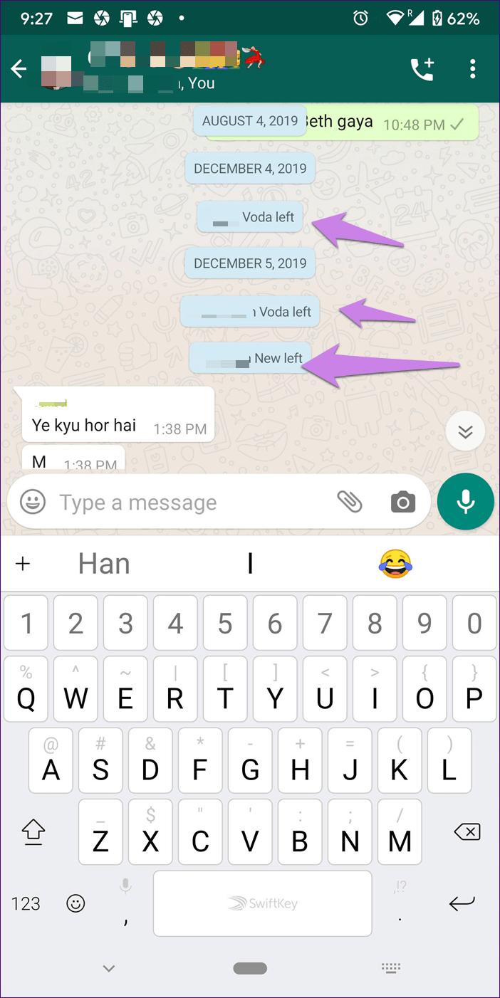 O que acontece Excluir conta do WhatsApp 3