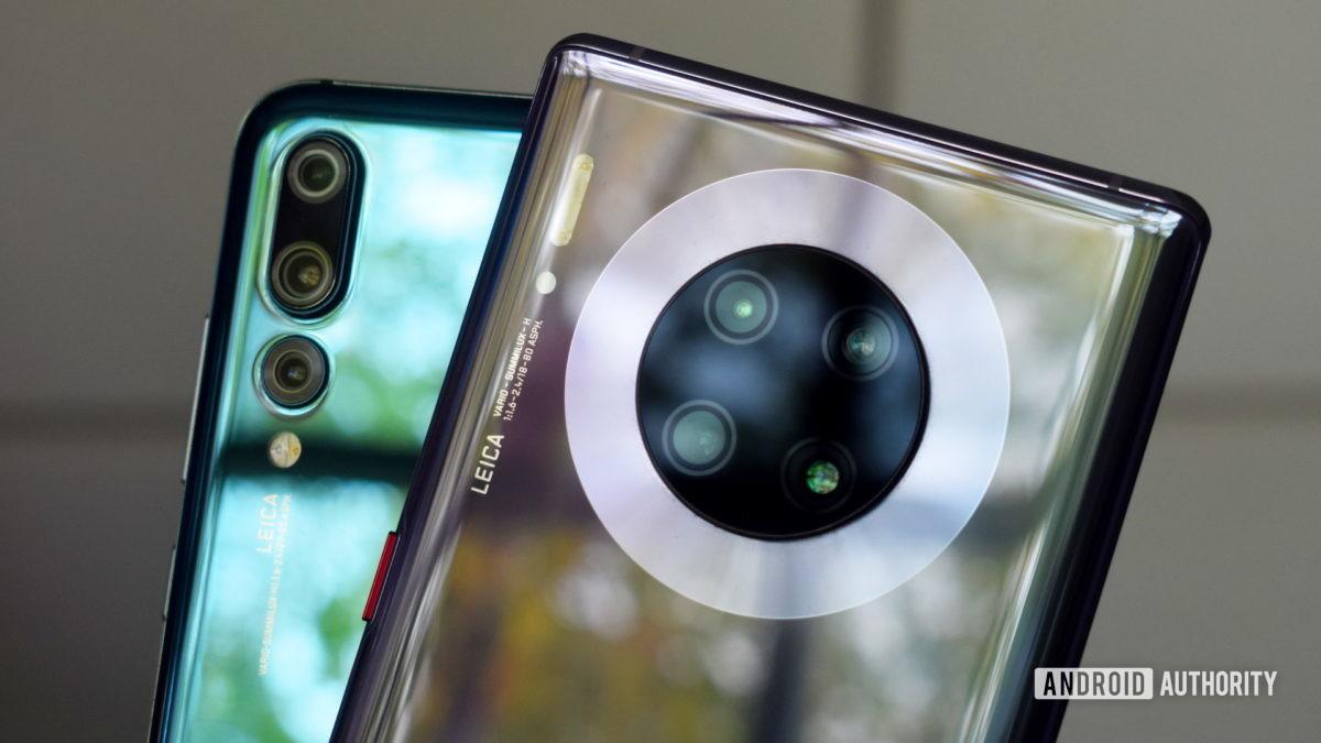 Huawei Mate 30 Pro vs P20 Pro