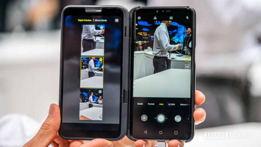 O LG V50 ThinQ é sugerido para obter um sucessor no LG V60 ThinQ.