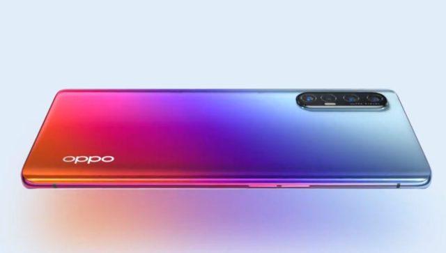 O Oppo Reno 3 Pro 5G.