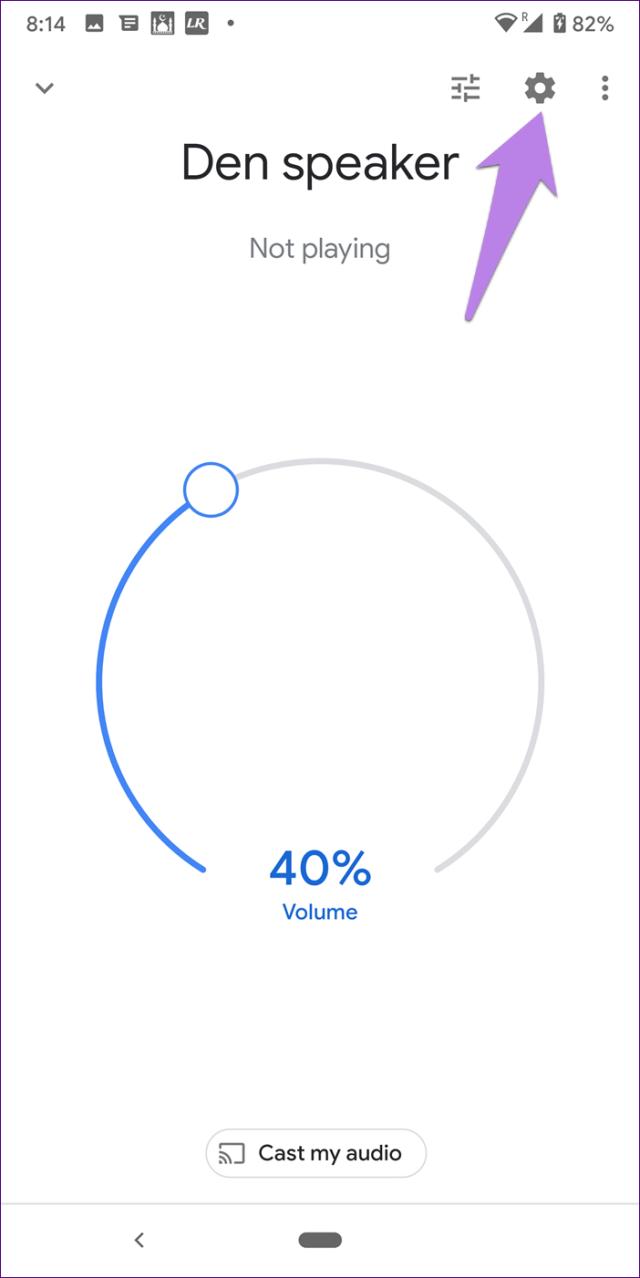 Google home mini mudança de volume 6