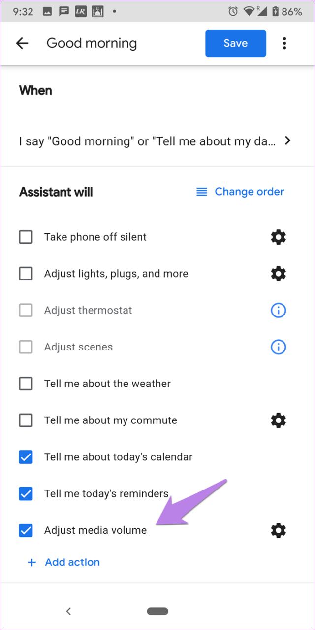 Mini-volume do Google Home em mudança 14