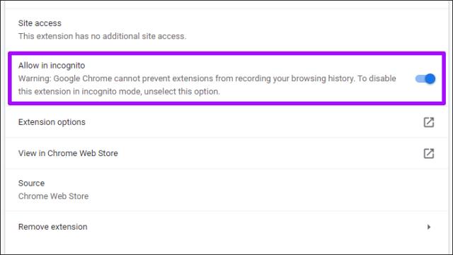 Desativar Chrome Prateleira de download 6