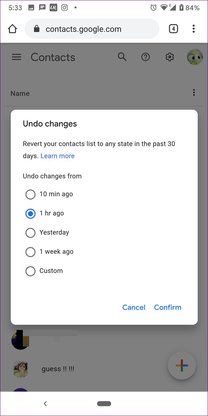 Restaurar contatos excluídos do google android iphone 9
