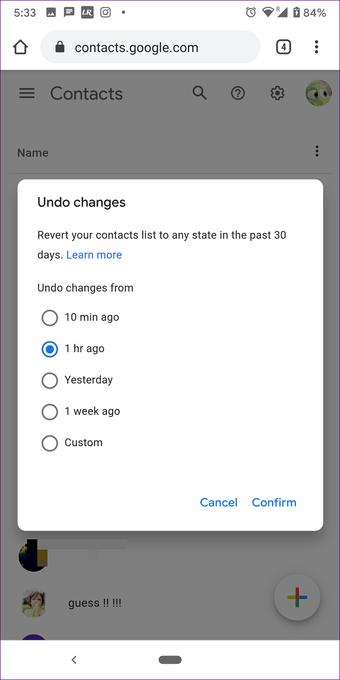 """Restaurar contatos excluídos do google android iphone 9 """"width ="""" 702 """"height ="""" 1402 """"tamanhos de dados ="""" tamanhos automáticos """"="""" (largura mínima: 976px) 700px, (largura mínima: 448px) 75vw, 90vw """"srcset = """"https://www.aplicativosandroid.com/wp-content/uploads/2020/01/1579715062_268_Como-restaurar-contatos-excluidos-do-Google.png 702w, https: //cdn.guidingtech .com / imager / assets / 2020/01/550965 / restore-delete-Contacts-from-google-android-iphone-9_935adec67b324b146ff212ec4c69054f.png? 1579527670 700w, https://cdn.guidingtech.com/imager/assets/2020/ 01/550965 / restaurar-contatos-excluídos-do-google-android-iphone-9_40dd5eab97016030a3870d712fd9ef0f.png? 1579527672 500w, https://cdn.guidingtech.com/imager/assets/2020/01/550965/restore-deleted-contacts -from-google-android-iphone-9_7c4a12eb7455b3a1ce1ef1cadcf29289.png? 1579527672 340w"""