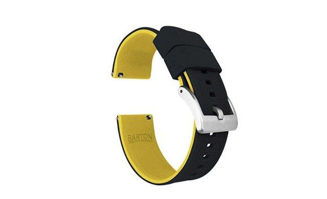 Bandas de relógio de silicone Barton Elite