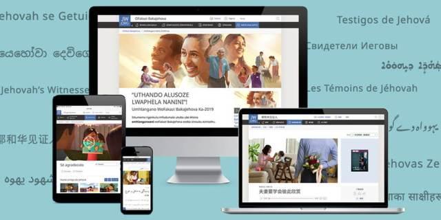 jw.org site mais traduzido do mundo