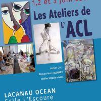 Les 1, 2, 3 juin les ateliers de l'ACL