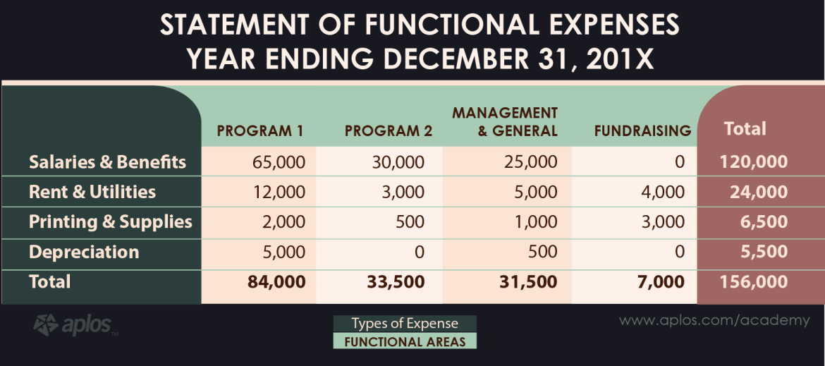 Finances Section - statement-of-functional-expenses