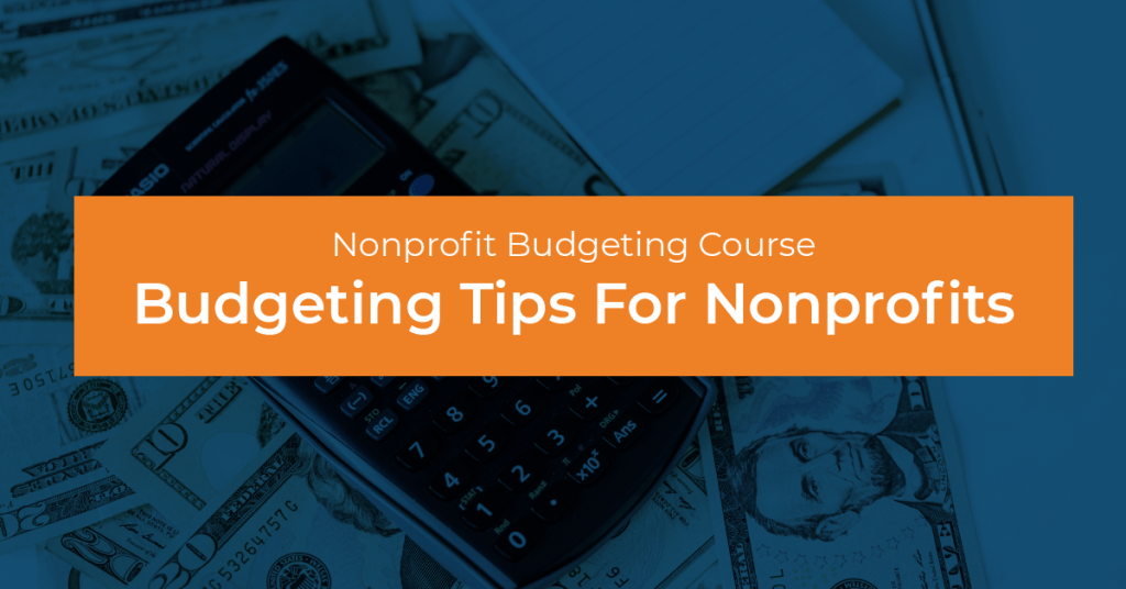 Budgeting Course For Nonprofits