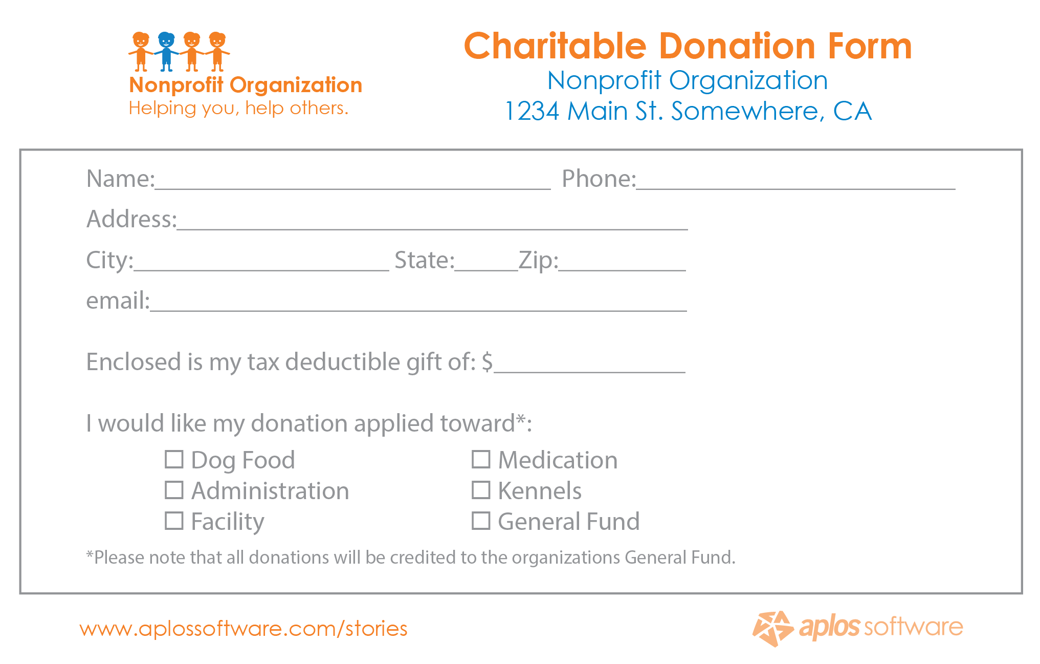 Pledge Form Templates donation tracker for excel with thermometer – Fundraising Forms Templates