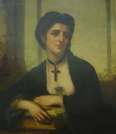 Υπατία, κόρη του Ιωάννη Σκυλίτση και της Αλεξάνδρας Μαυροκορδάτου, σύζυγος του Θεοδώρου Εμμ. Σκυλίτση, 1843-1870, Βιβλιοθήκη «Κοραής»