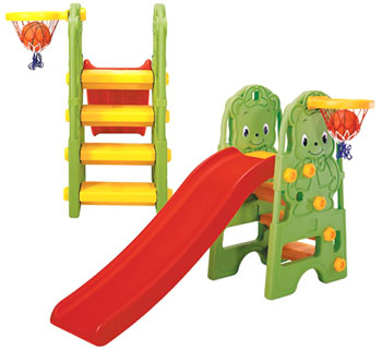 Slide with Basket Series