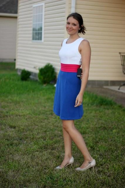 Colorblock Stitch Fix Dress