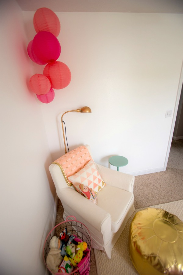Mabel S Gold Coral Amp Pink Nursery A Life