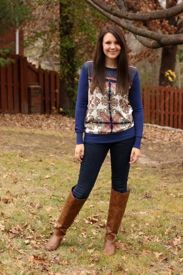 Stitch Fix Blue Sweater