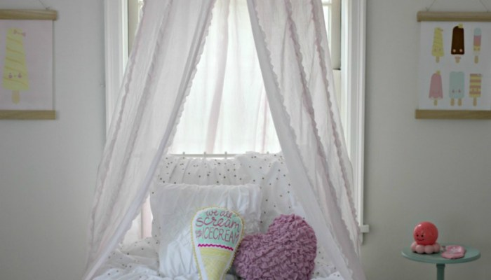New Home Tour: Abigail's Ice Cream Bedroom