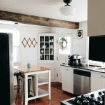 A Planked Ceiling + A Faux Beam (Kitchen Reveal)