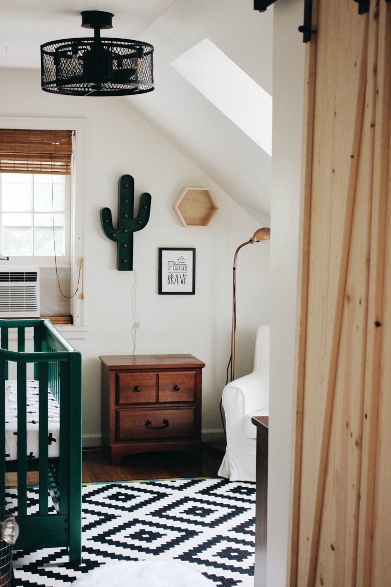 Cactus Baby Nursery Reveal A Life
