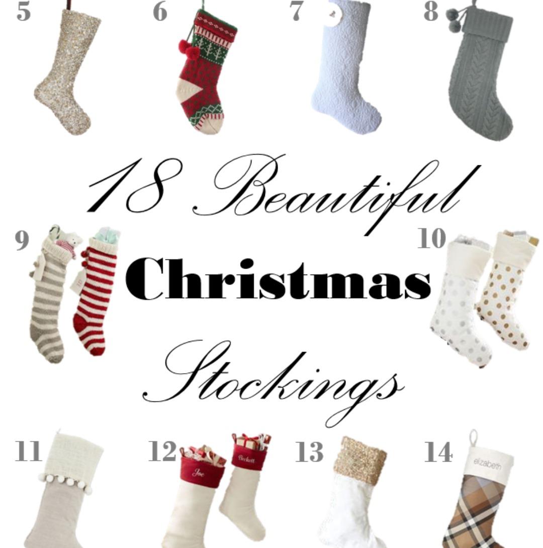 18 beautiful christmas stockings holiday a life
