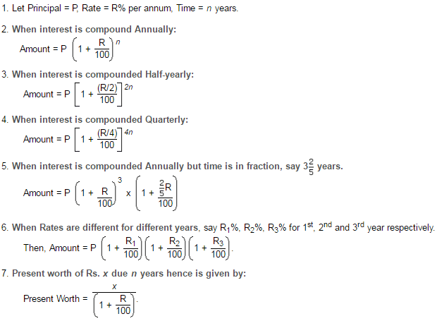 Icse Solutions For Class 10 Mathematics Compound Interest A Plus