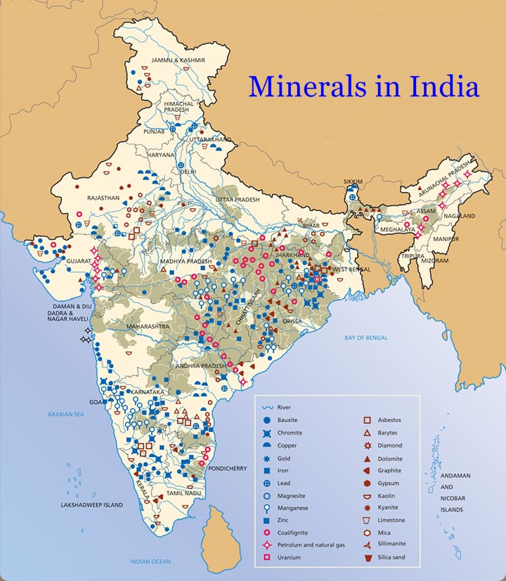 Icse Solutions For Class 10 Geography Minerals In India A Plus Topper